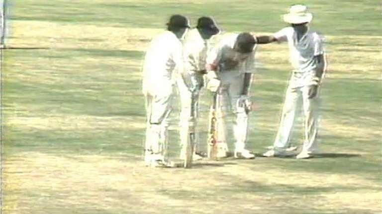 Dean Jones struggled to deal with the Chennai heat in 1986
