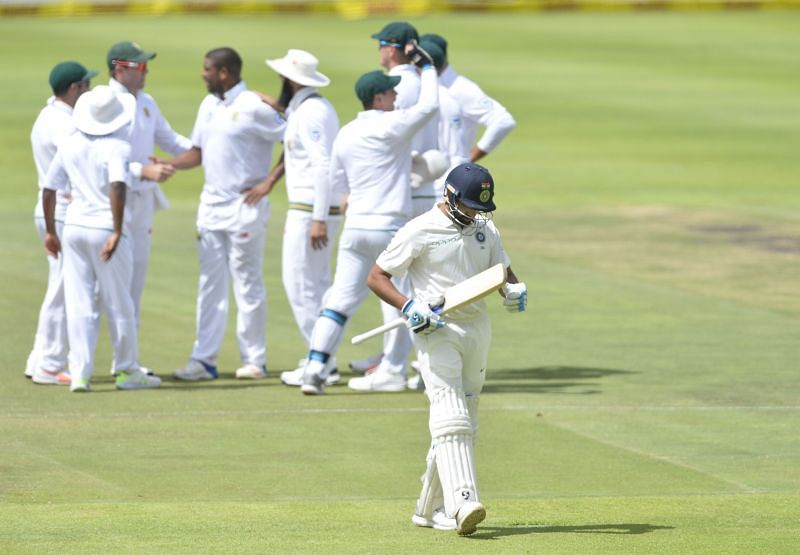 Rohit Sharma played ahead of Ajinkya Rahane in the first two Tests at South Africa 2018.