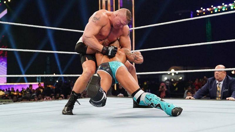 ब्रॉक लैसनर vs रिकोशे