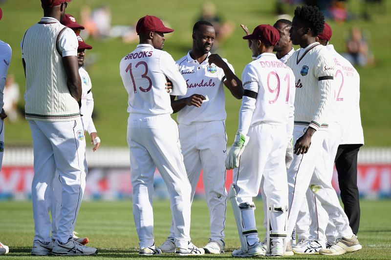 Kemar Roach and Shannon Gabriel were the two wicket-takers on the opening day