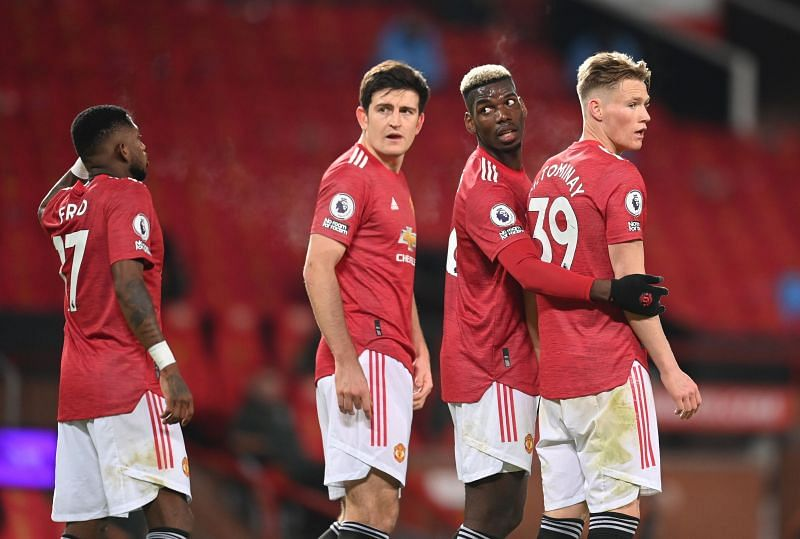 Manchester United played out a 0-0 draw with their local rivals