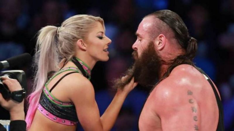 Alexa Bliss and Braun Strowman