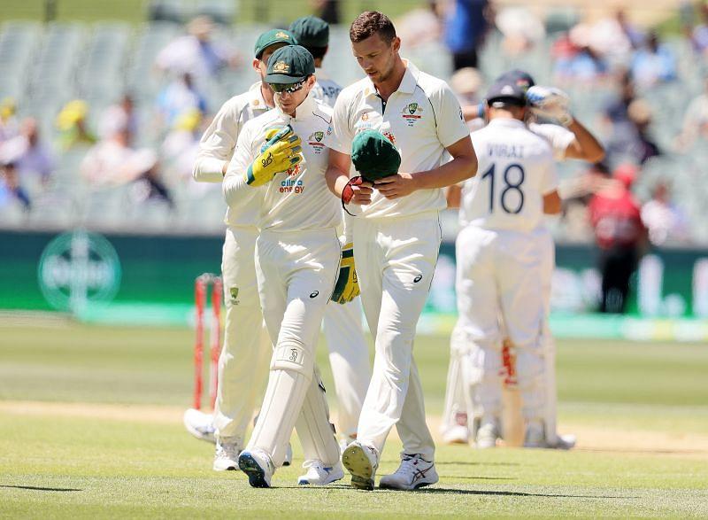 Australia v India: 1st Test - Day 3