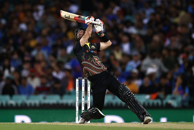 Glenn Maxwell smashed a half-century in the third T20I between India and Australia