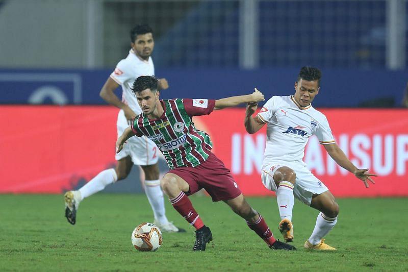 Edu Garcia had an impressive game for ATK Mohun Bagan (Image courtesy: ISL)