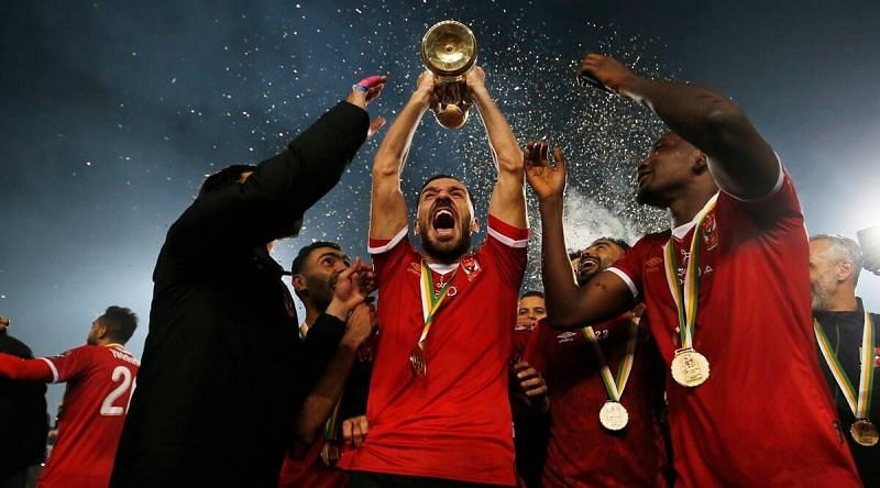 Al Ahly have won a record 118 titles.