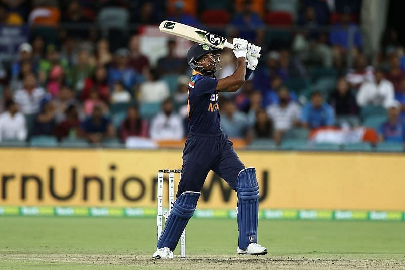 Hardik Pandya flaunted his prowess in the 3rd T20I between India and Australia