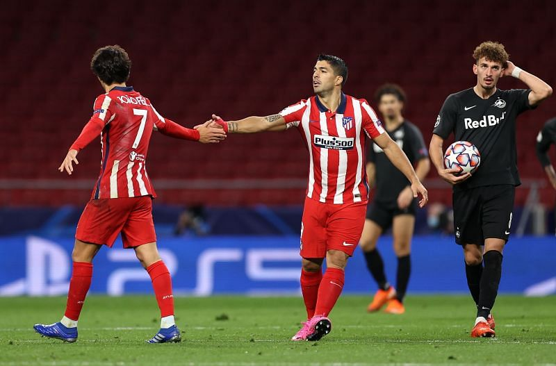 Joao Felix and Luis Suarez have scored and created 13 of Atletico