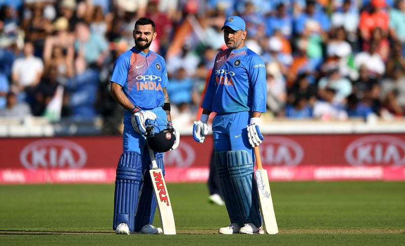 Virat Kohli and MS Dhoni have been named in the ICC T20 Team of the Decade
