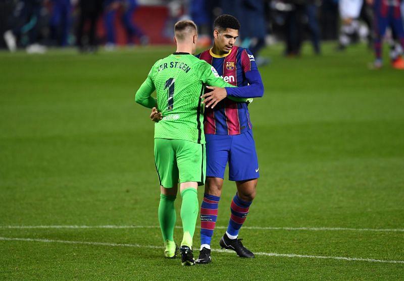 FC Barcelona defender Araujo