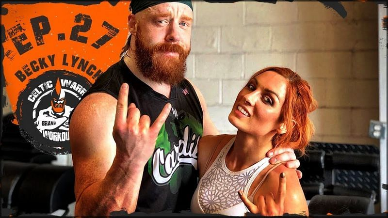 Becky Lynch and Sheamus