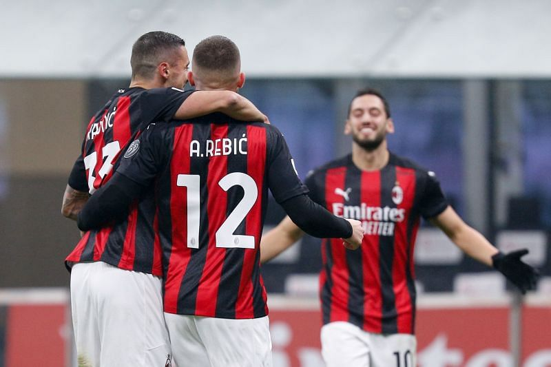 AC Milan beat Lazio 3-2 in Serie A on Tuesday night
