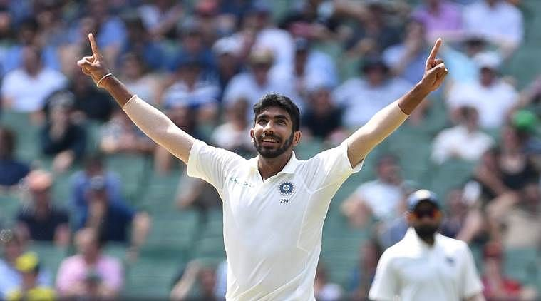 Jasprit Bumrah claimed six wickets in the second Test in Melbourne.