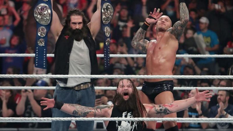 Randy Orton with The Wyatt Family