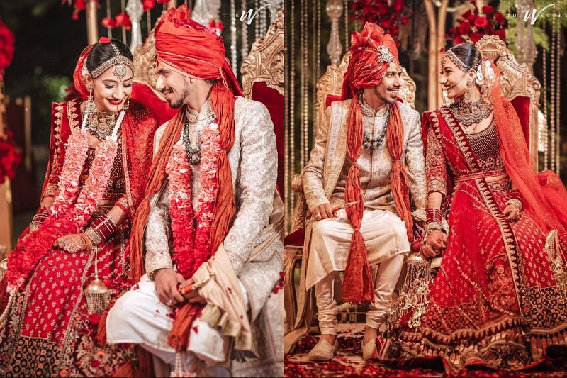 Yuzvendra Chahal married Dhanashree Verma on Tuesday (Image courtesy: Instagram)