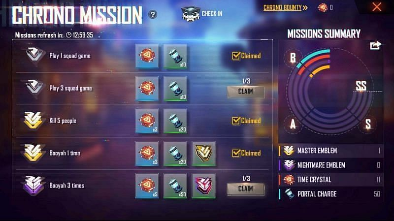 Chrono Missions