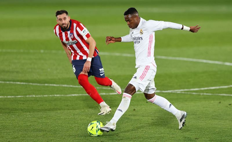 Vinicius Jr in action for Real Madrid