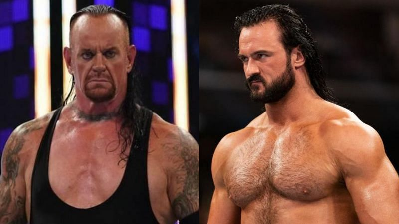The Undertaker and Drew McIntyre