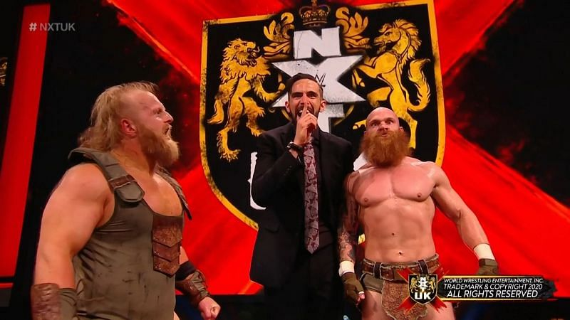 The Hunt put the NXT UK Tag Team division on notice