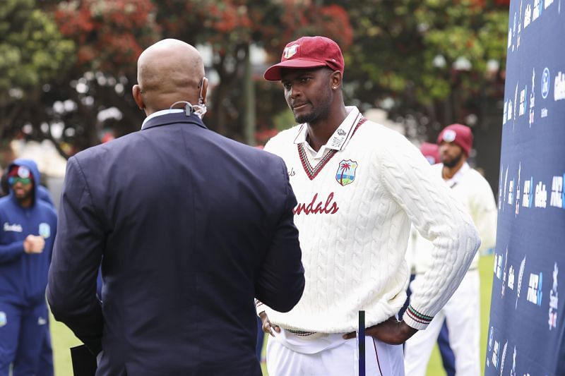 Jason Holder could not pick up a single wicket in the ICC World Test Championship series against New Zealand