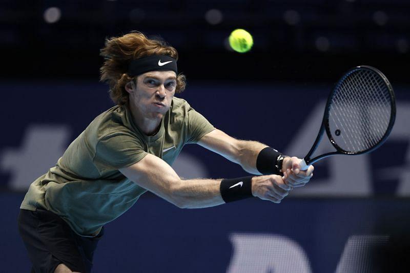 Andrey Rublev at the Nitto ATP =Finals