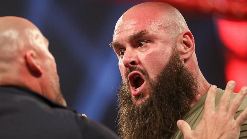In storyline, Braun Strowman is currently suspended after attacking Adam Pearce