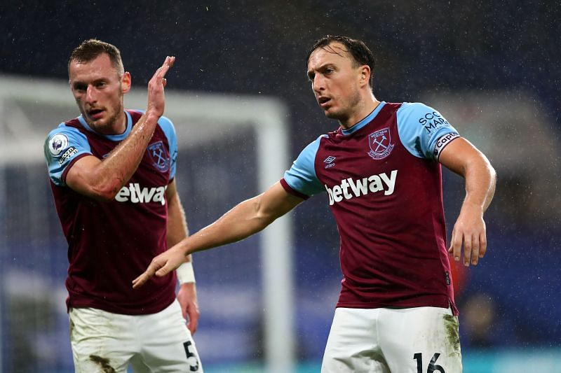 West Ham United are in Premier League action on Sunday at the London Stadium