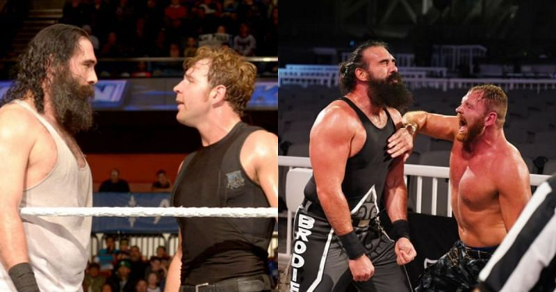 Jon Moxley and Brodie Lee.