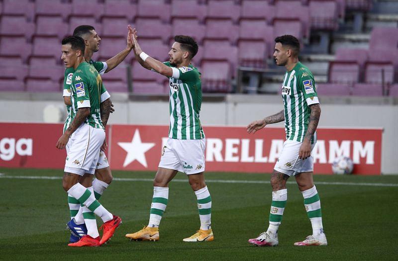 Real Betis play Granada on Sunday
