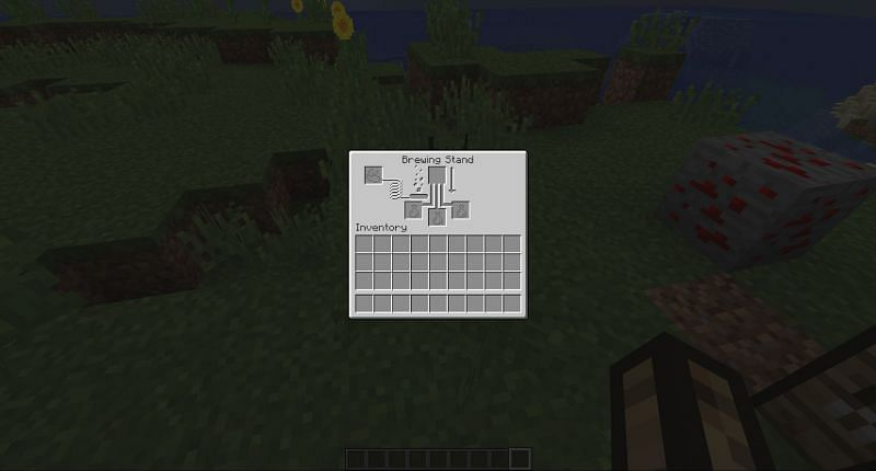 Brewing  Stand UI in Minecraft