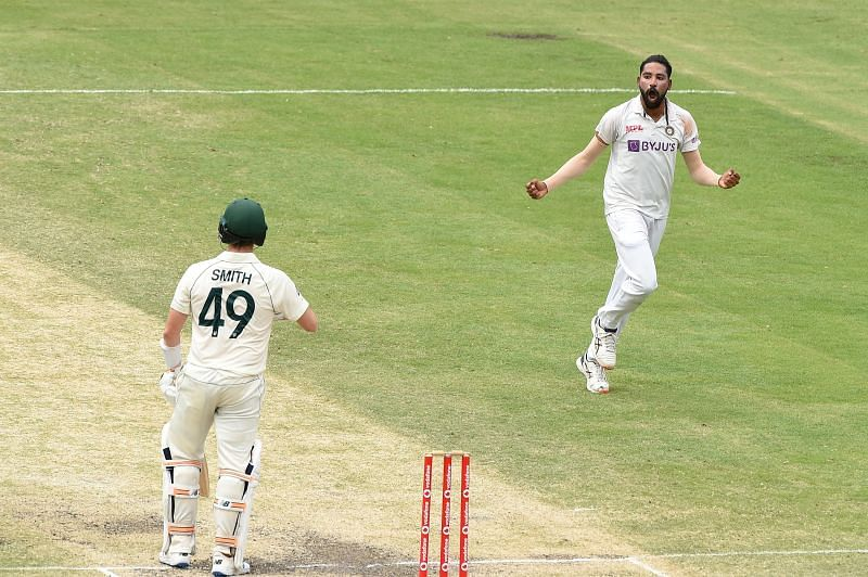 The India bowlers enjoyed success against Steve Smith