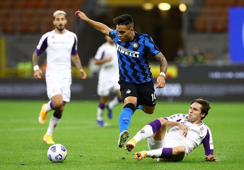 Inter Milan take on Fiorentina this week