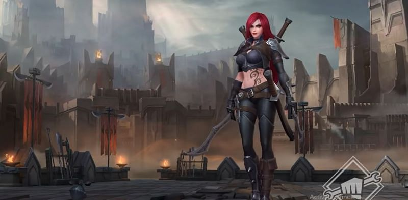 Katarina in Wild Rift (Screengrab via Wild Rift Trailer)