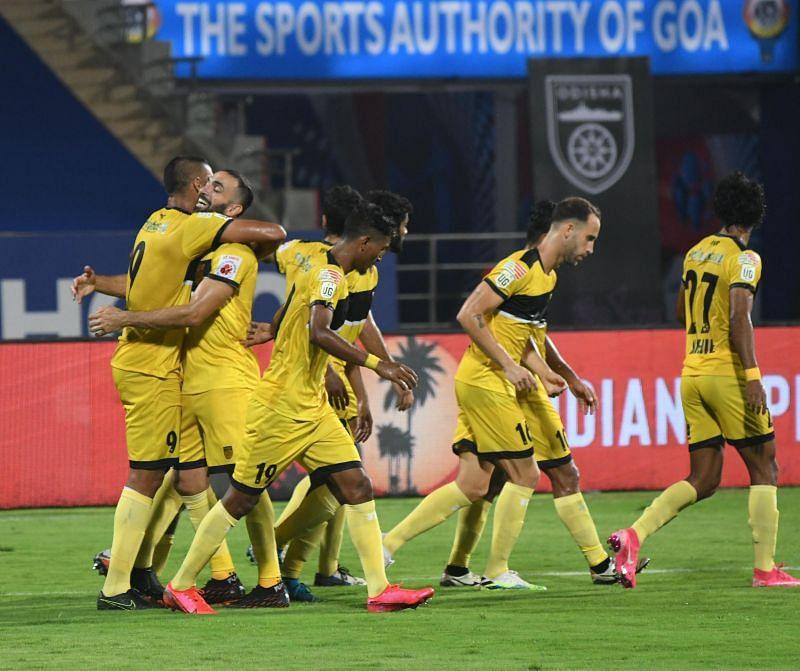 Hyderabad FC players (Image courtesy: ISL)