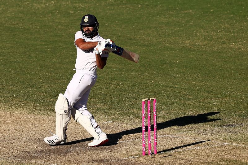 Rohit Sharma scored his maiden half-century as an opener in overseas Tests.