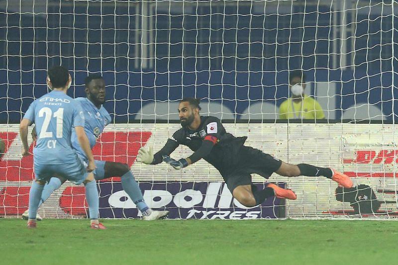Amrinder Singh has been a big reason behind Mumbai City FC