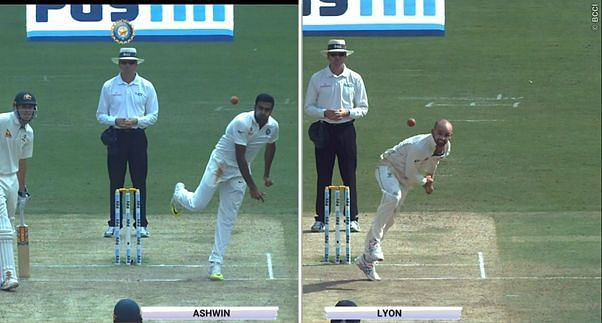 Ashwin vs Lyon: The Best Modern Day Spinner debate continues. image courtesy: bcci tv