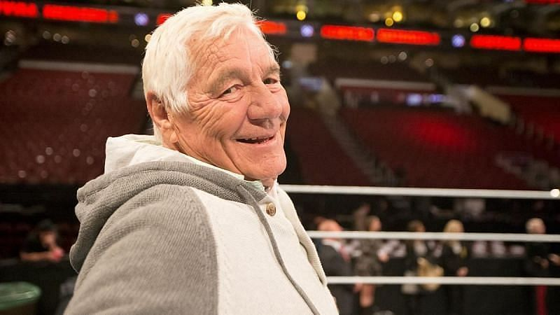 Pat Patterson passed away in December last year