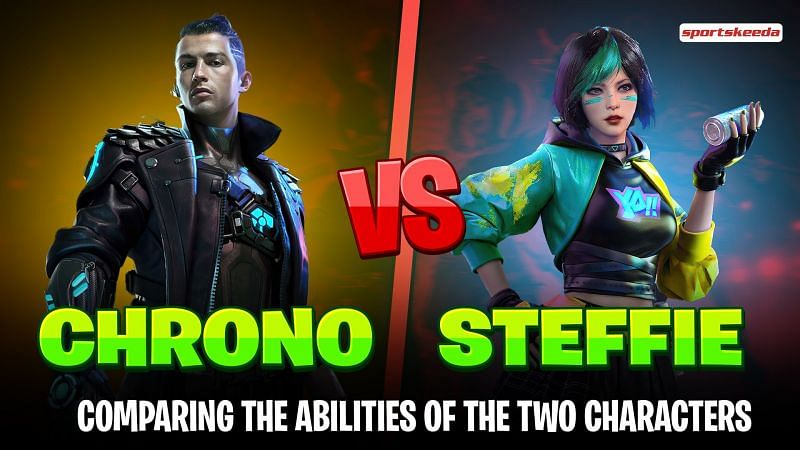 Chrono and Notora are two popular characters in Garena Free Fire (Image via Sportskeeda)