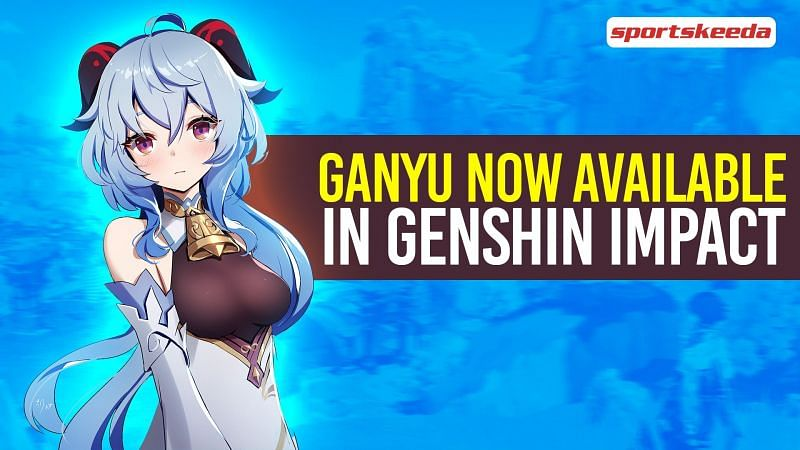 The Ganyu banner is now live in Genshin Impact