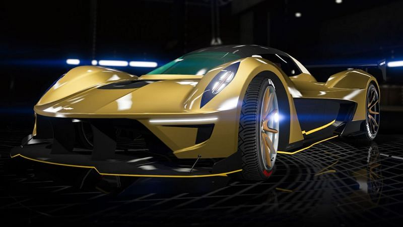 Top 10 cars in GTA 5 based on top speed