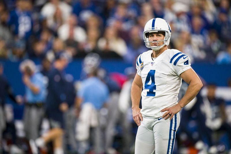 Former Indianapolis Colts kicker Adam Vinatieri