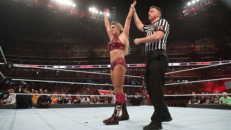 Charlotte Flair at WWE Royal Rumble