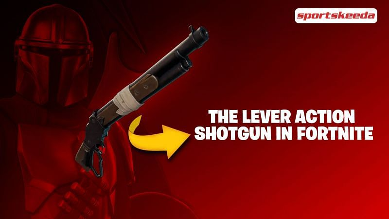 The Lever Action Shotgun has made its way into Fortnite