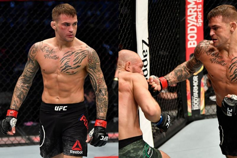Dustin Poirier defeated Conor McGregor at UFC 257