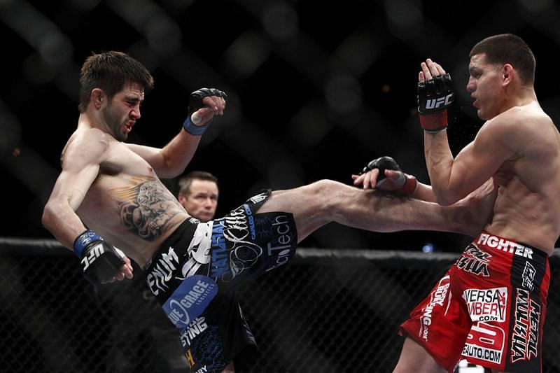 Carlos Condit vs. Nick Diaz from UFC 143 was an instant classic