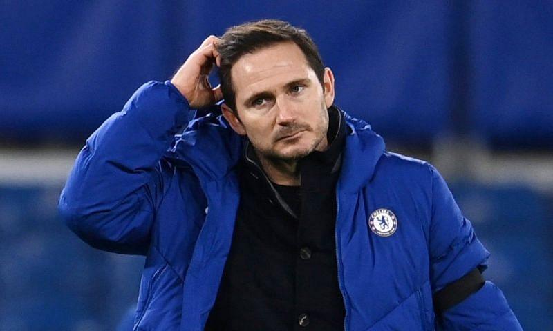 Chelsea boss Frank Lampard