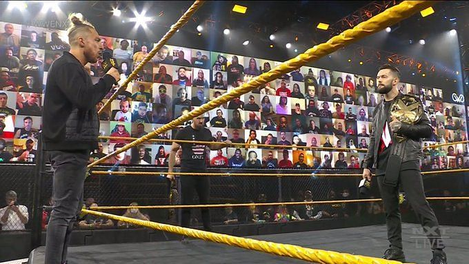 The Bruiserweight vs The Prince of NXT