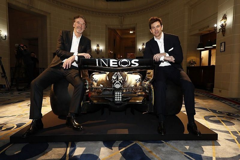 INEOS has one-third of the stake in the Mercedes Formula 1 team
