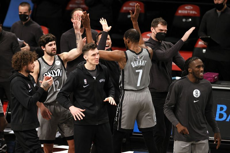 The Brooklyn Nets take on the Atlanta Hawks in their second consecutive game